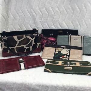Miche purse with 6 cases
